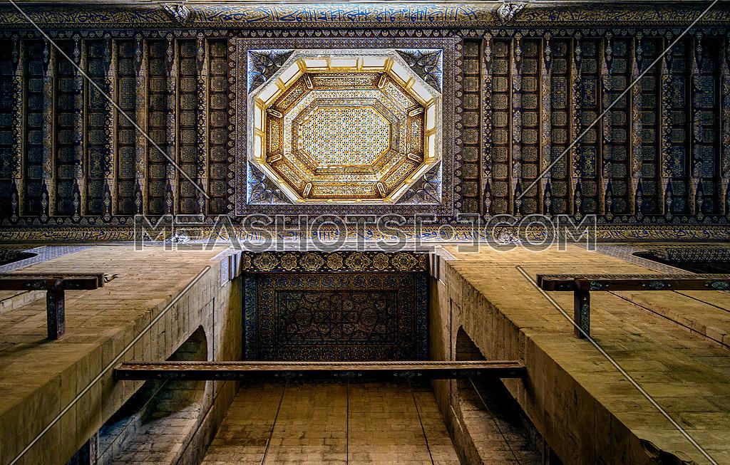 El refai mosque ceiling