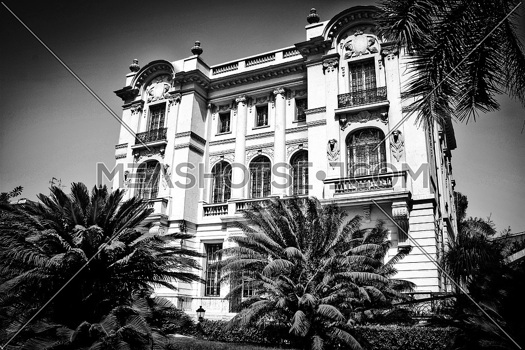 Black Palace ,this building is Mahmoud Mokhtar Musem, located in Giza, established in 1938 , he was Egyptian sculptor, He attended the School of Fine Arts