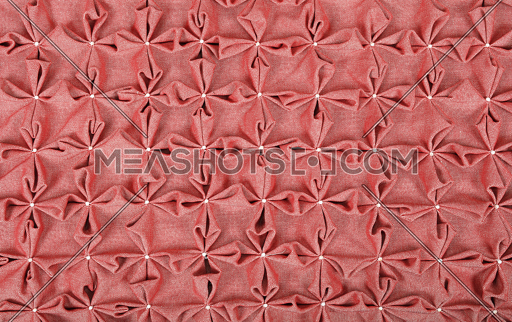 Close up background of pink textile puffs-184570 | Meashots