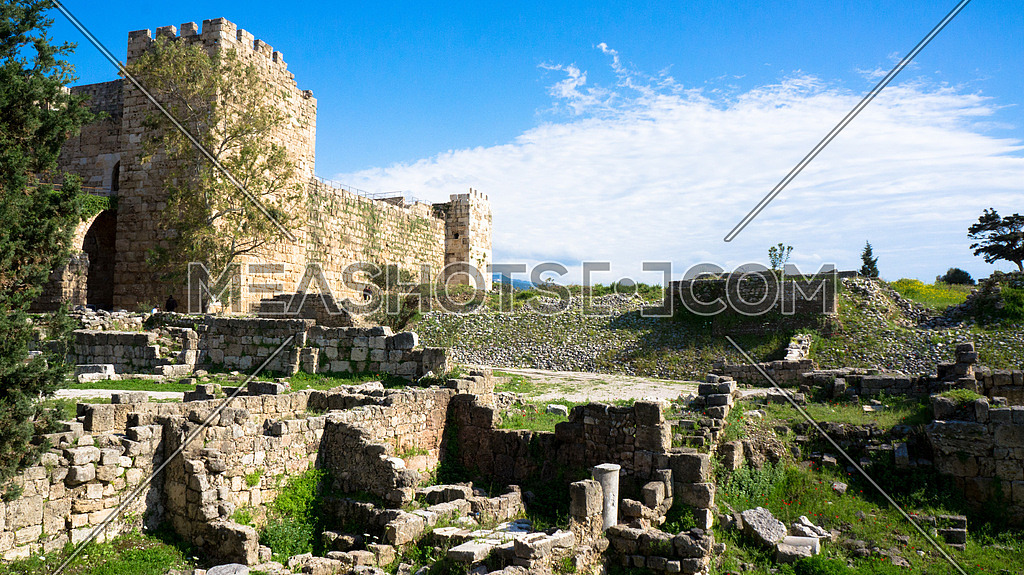 Jbeil Castle in Byblos lebanon