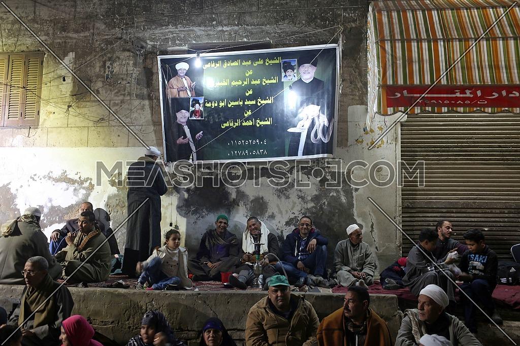 People celebrate during an annual Al-Husayn-186921 | Meashots