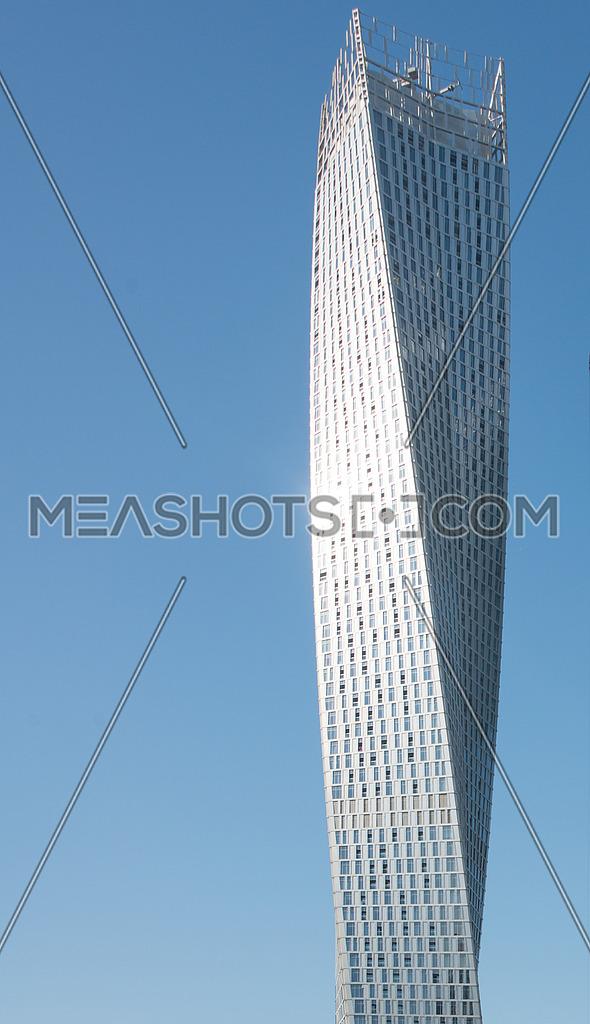 Cayan tower in Dubai Marina
