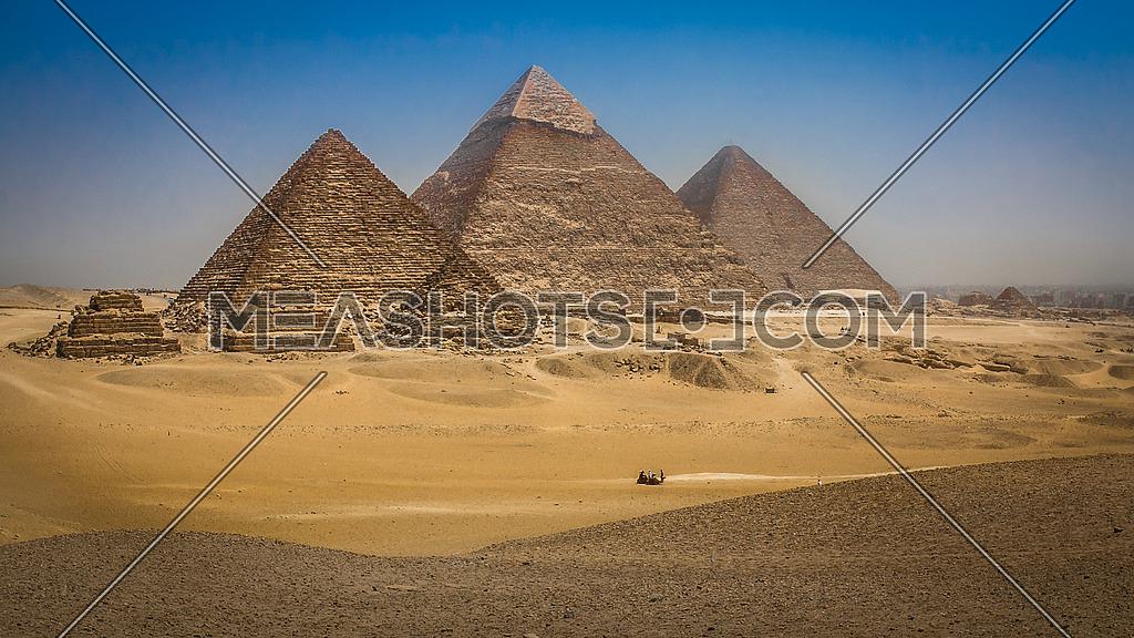 The Grand Pyramids of Giza
