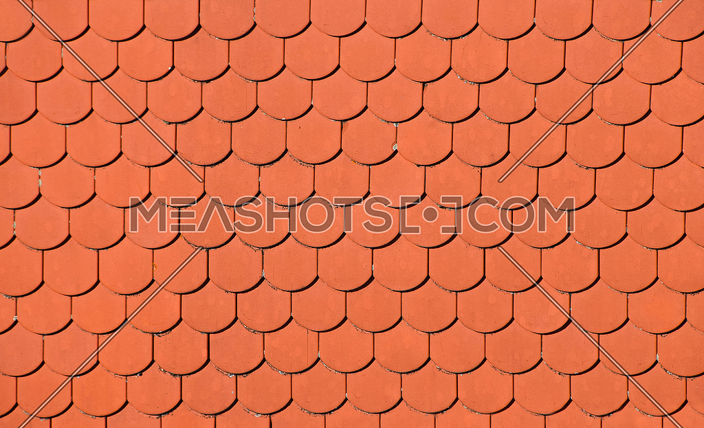 Red Brown Ceramic Roof Tiles Pattern Background 175161 Meashots