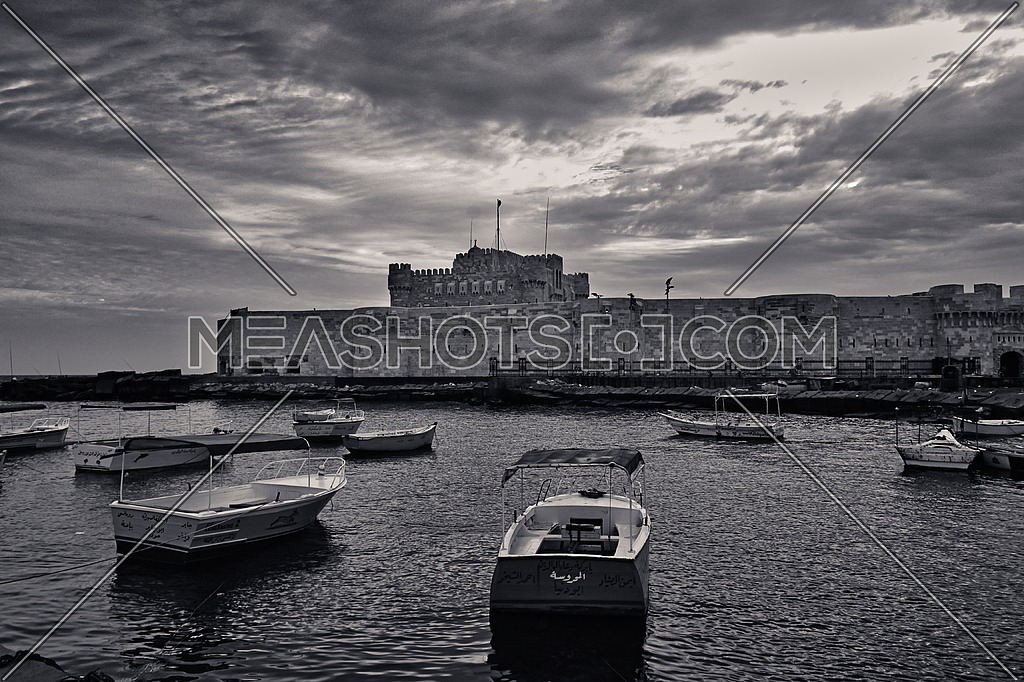 Kayet Bey Castle, Alexandria, Egypt