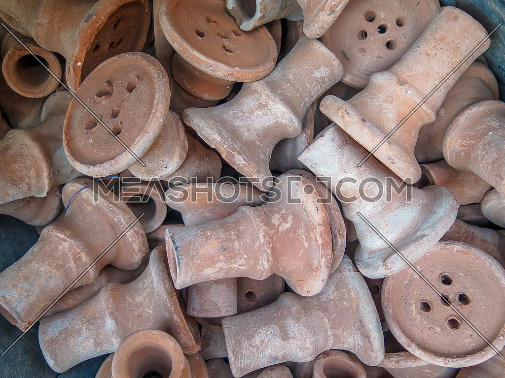 shisha clay heads
