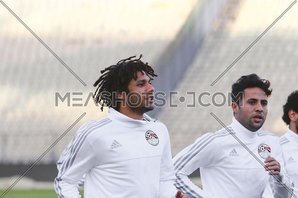 Egypt national football team traning