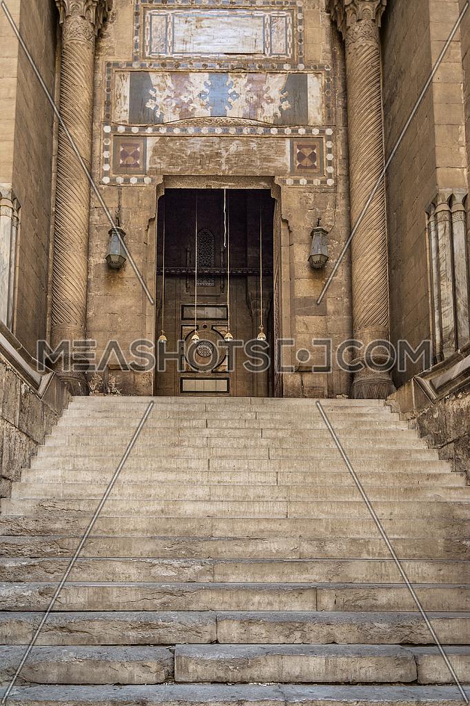 EL Refaei Mosque Entrance