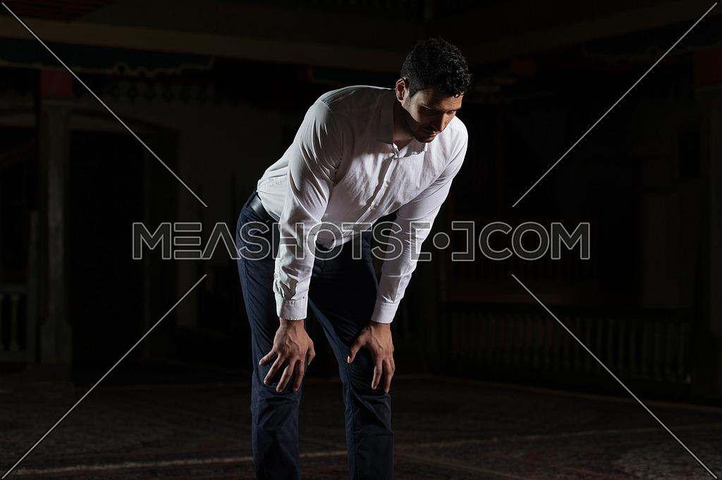 Religious Muslim Man Praying-99423 | Meashots