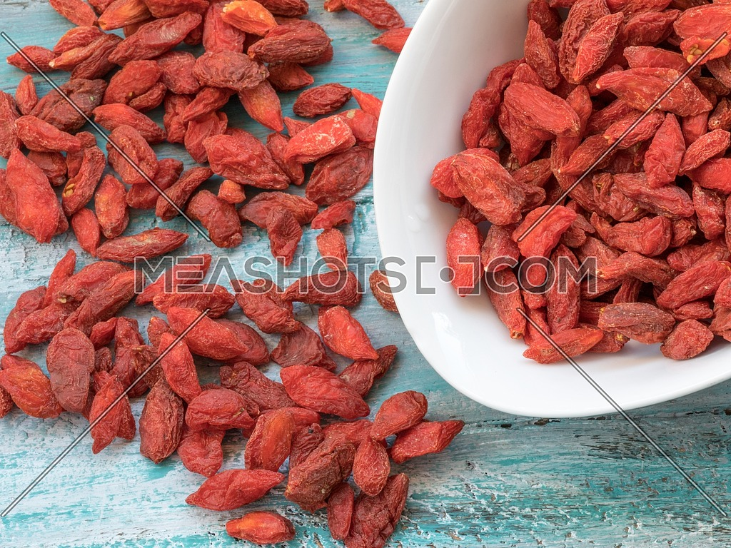 Goji berry fruit are very high in vitamin c and antioxidants. Used also in chinese herbal medicine.