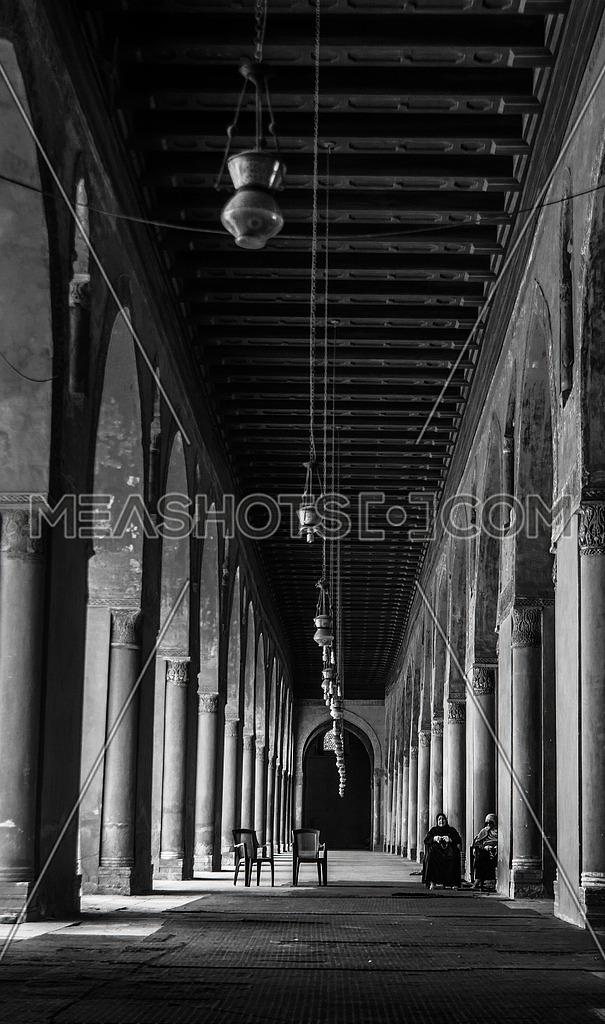 Ibn Tolon mosque pillars