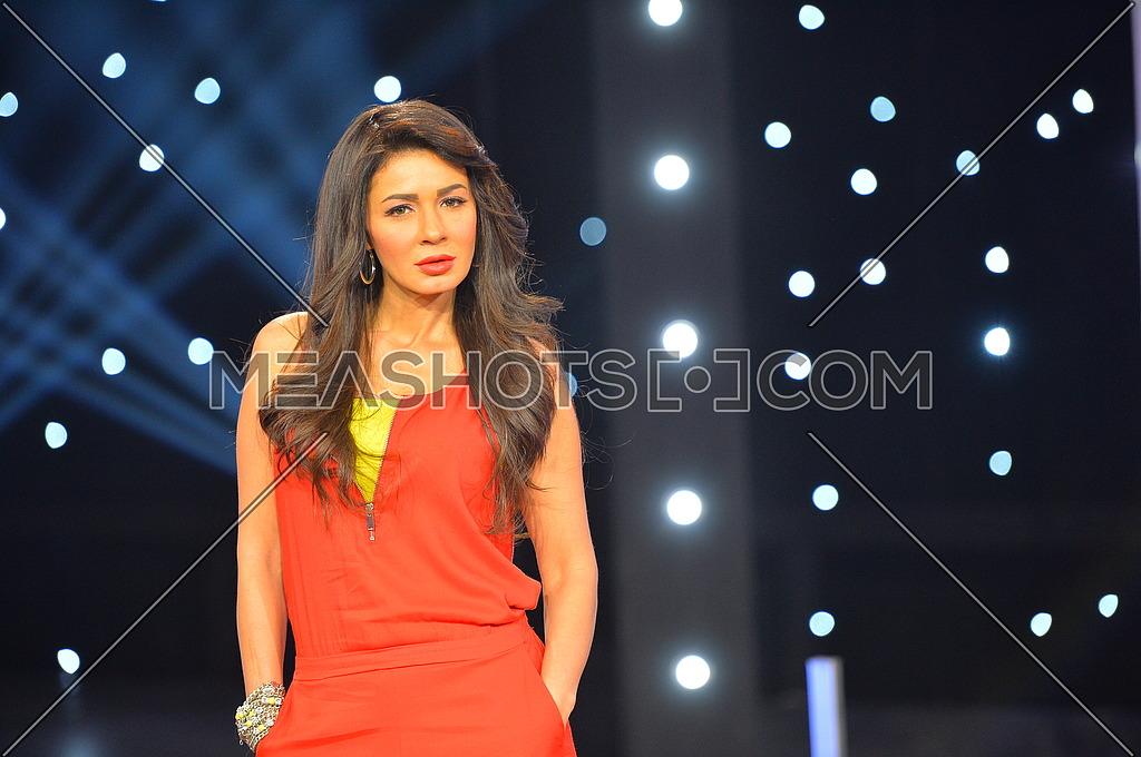 Egyptian Actress Nagla Badr in a photoshoot on 21 January 2015