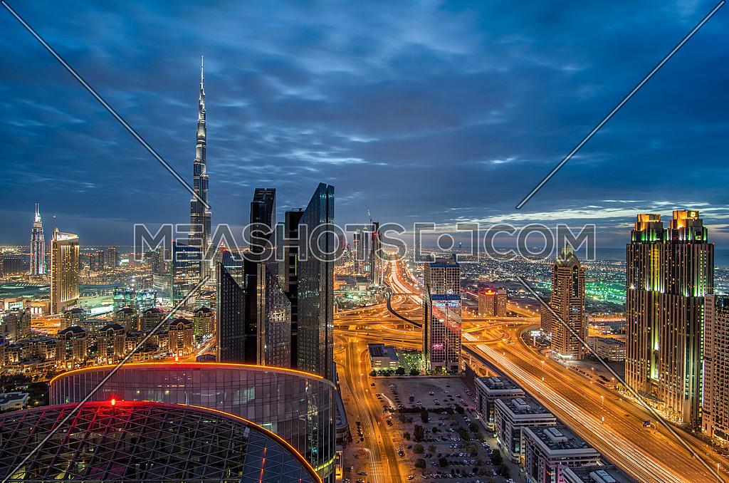 Dubai Downtown landscape