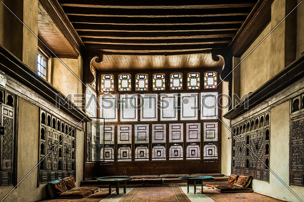 Interior Shot of ElSehemy House in Old Cairo Almoez St