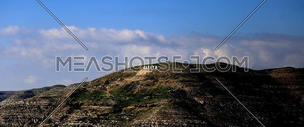 The magnificent Faraya Mountains in Lebanon