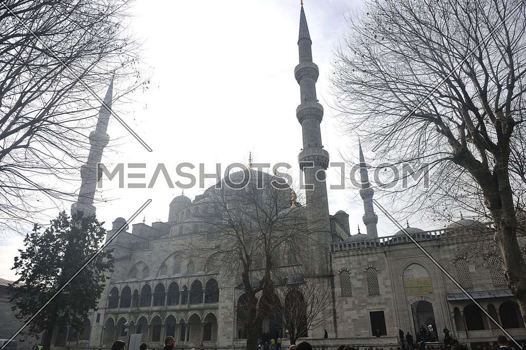 Sultan Ahmet Mosque in istanbul turkey