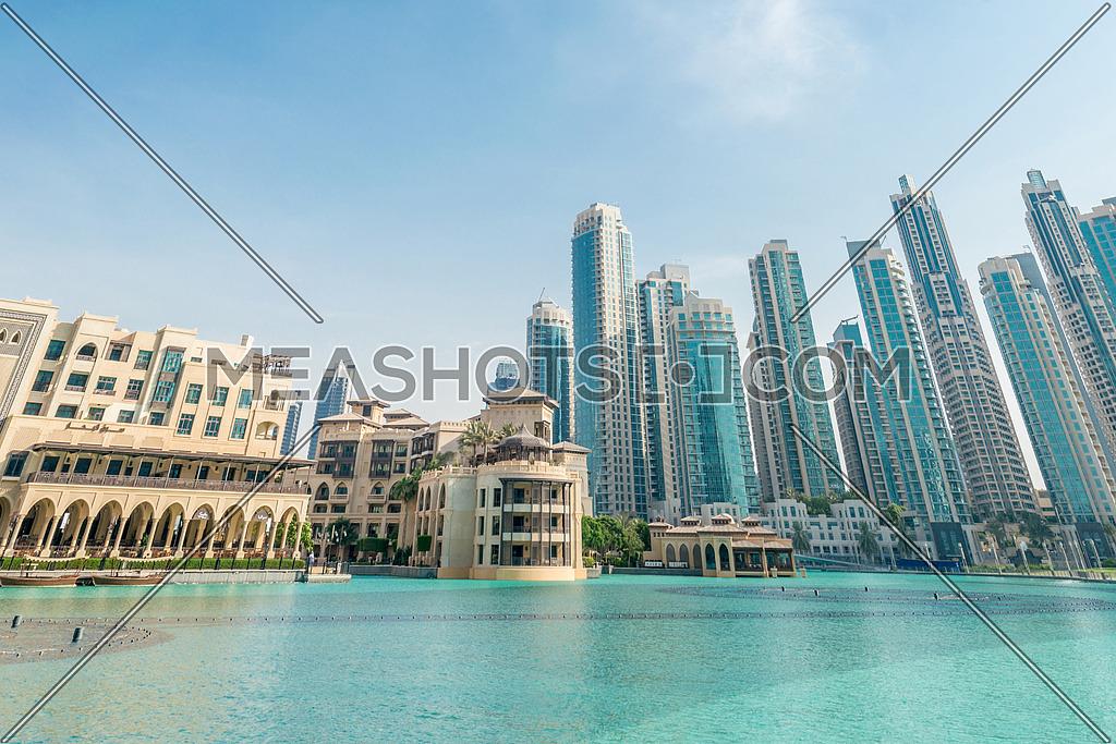 Dubai - JANUARY 9, 2015: Soul Al Bahar on January 9 in UAE, Dubai. Soul Al Bahar area is popular with tourists