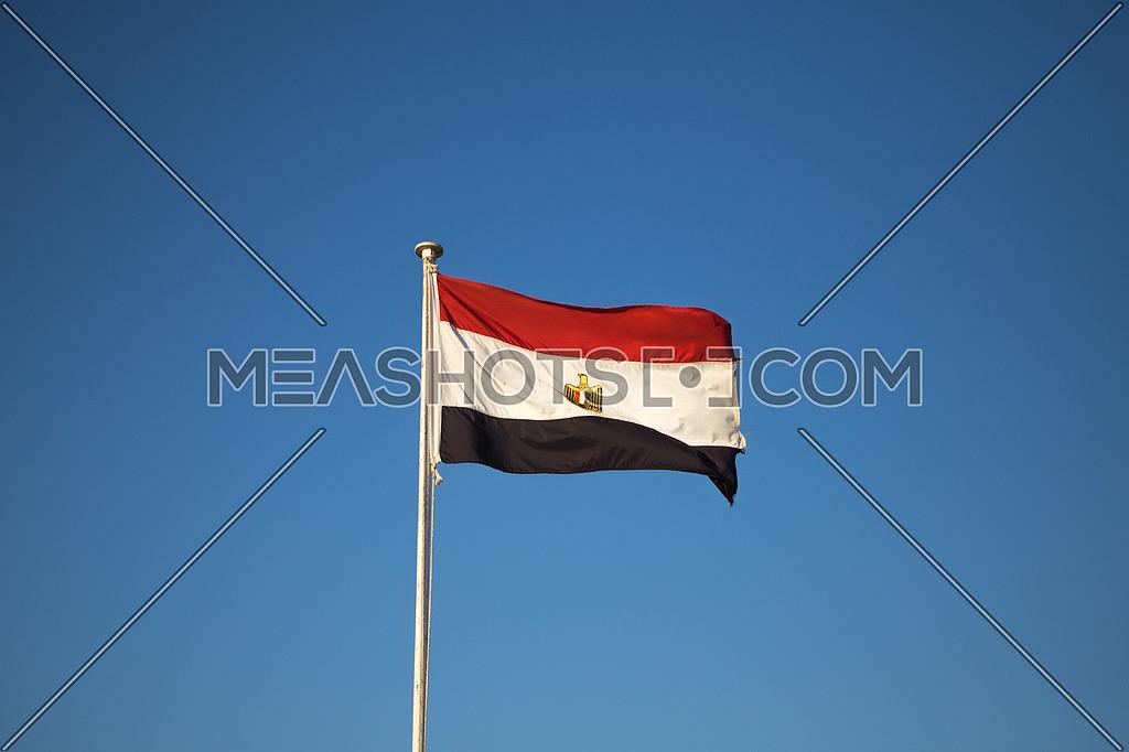 The Egyptian flag