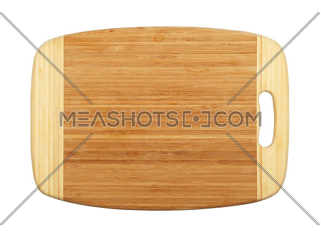Rectangular Bamboo Wood Cutting Board Isolated 175676 Meashots