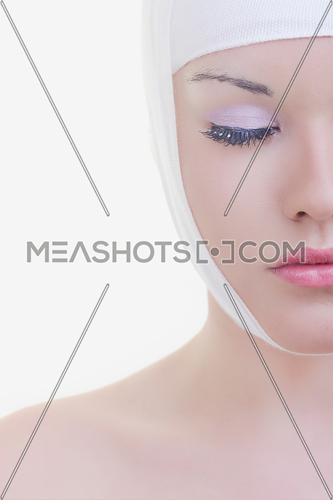 woman skincare and health concept