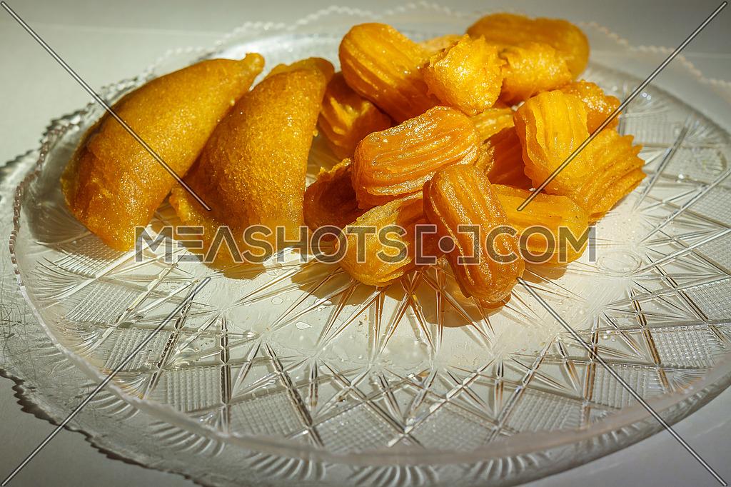 Ramadan sweets Balah El sham and Qatayef