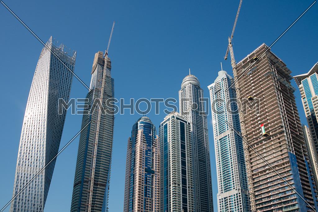 towers in dubai marina