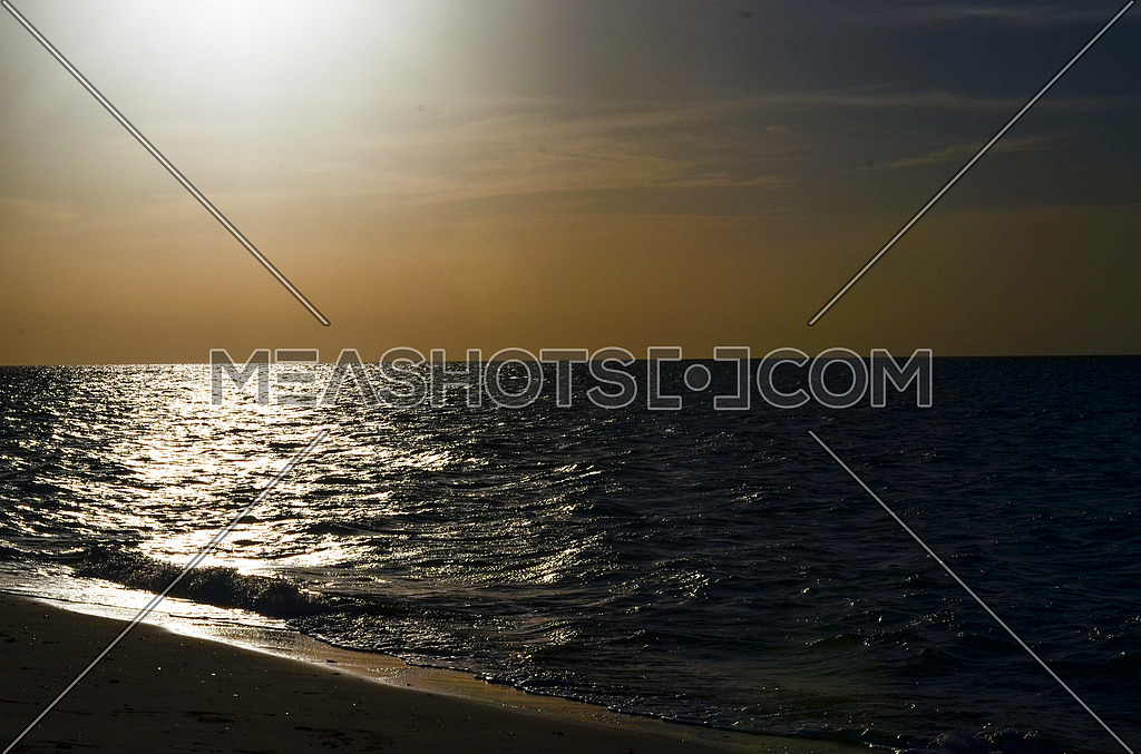 Sunset Magical Golden Hour By The Beach And 164777 Meashots