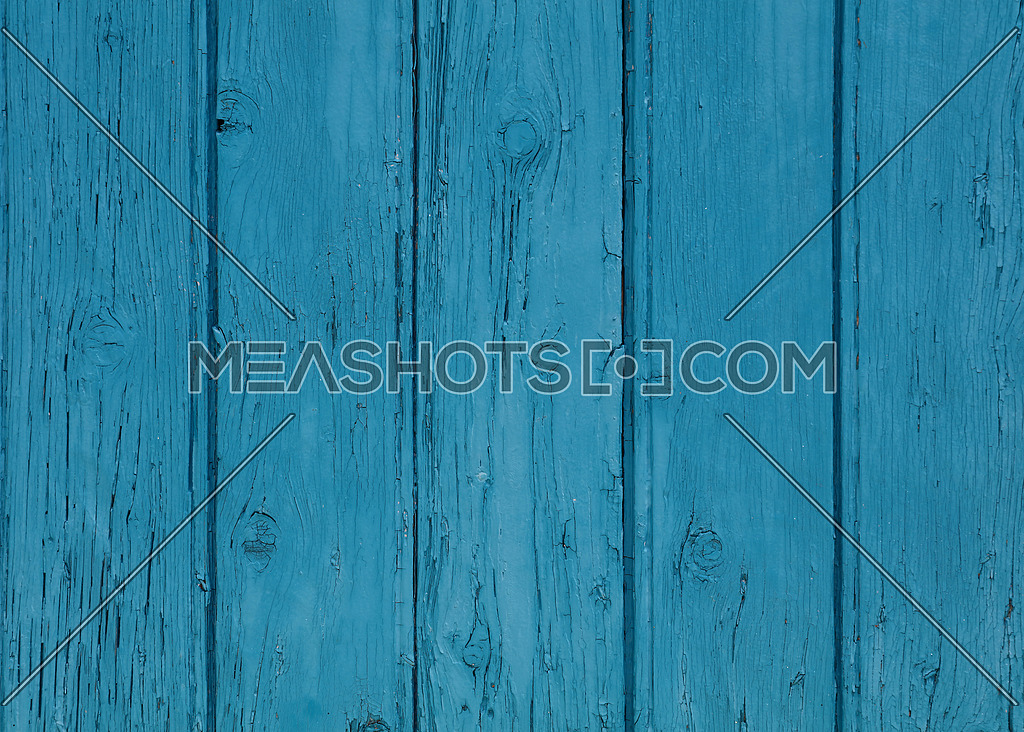 Close Up Background Texture Of Blue Vintage Painted Wooden Planks Rustic Style Wall Panel
