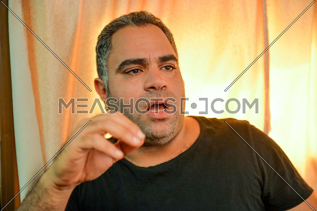 Egyptian Actor Mohamed Shaheen on 20 October 2015