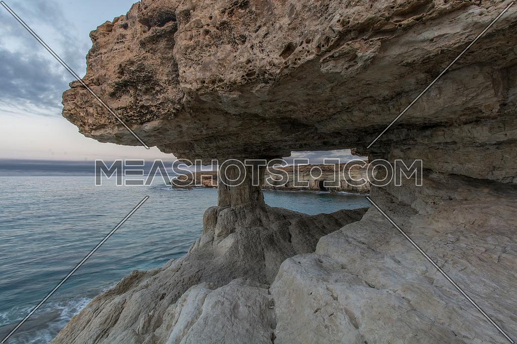 Sea caves near Agia Napa, Cyprus
