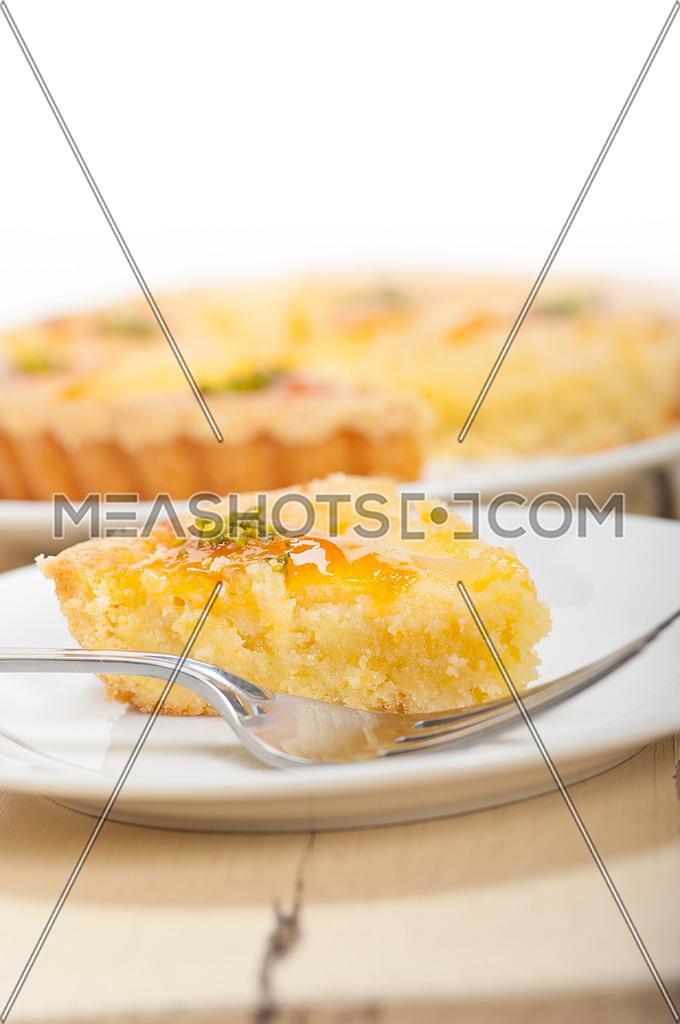 fresh home baked pears pie dessert cake tart