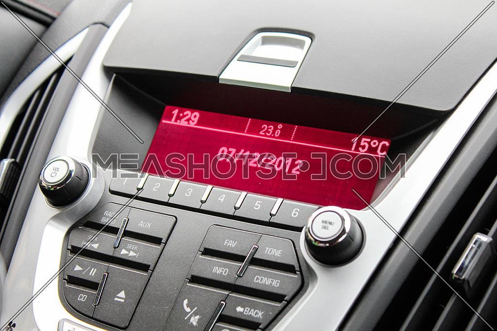 A car's sound system