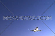 Passenger jet on final approach (1 of 4)