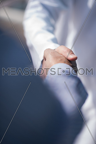 doctor and patient handshake healthcare and professionalism concept