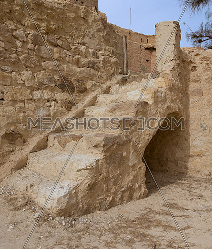Old staircase leading to the Monastery of Saint Paul the Anchorite (aka Monastery of the Tigers), Egypt