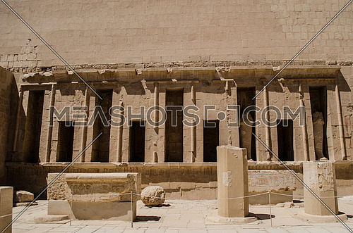 old architectural monument goes back to the Pharaoh area