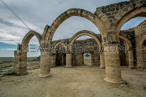 Ruins of Agios Sozomenos , Nicosia district. Cyprus