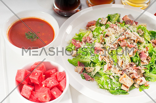 fresh classic caesar salad ,healthy meal ,MORE DELICIOUS FOOD ON PORTFOLIO