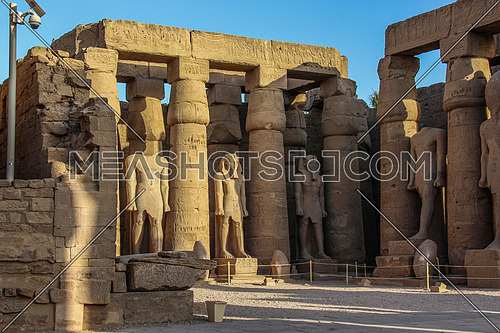 a photo from Luxor temple in Luxor city , Egypt