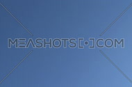 Commercial jet flies directly overhead (1 of 3)