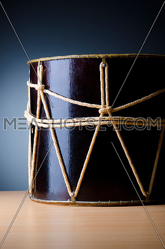 Traditional azeri drum called nagara