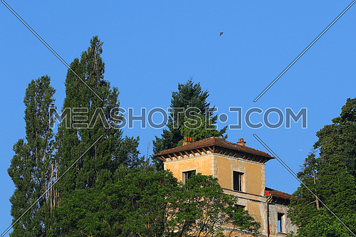 Abandoned properties in distress due to financial crisis,Tuscany