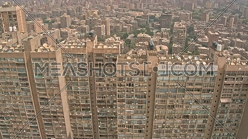 Reavel Shot Drone from Othmas Towers till reavel maadi area in 22th of March 2018 at day.