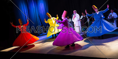 Sufi Dancers on stage