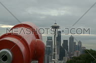 Tourist's view of downtown Seattle (2 of 2)