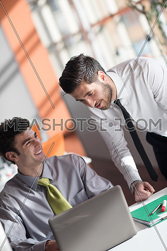 startup business people group working together everyday job at modern office