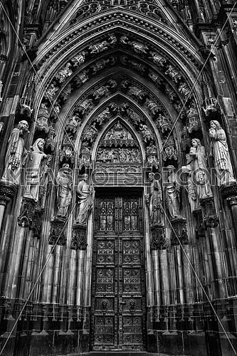 Cologne Dom DOOR  It is the seat of the Archbishop of Cologne
