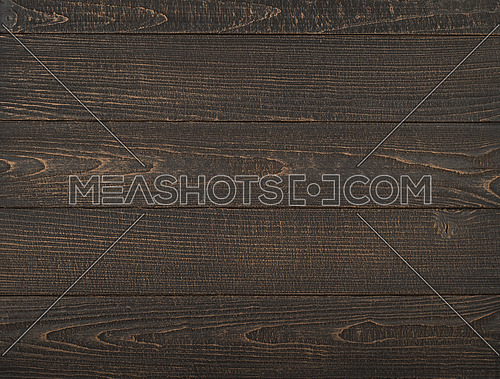 Vintage brown wooden planks background texture with scratches and stains over painted weathered wood surface