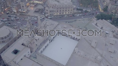 Fly Out Shot for Al-Azhar Mosque reveals Cairo City by day