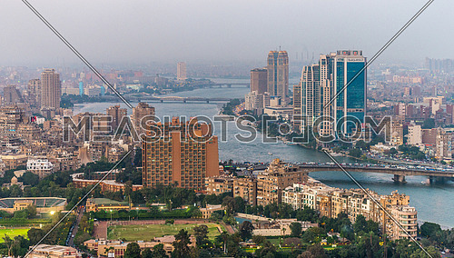 Great cairo view from Cairo tower